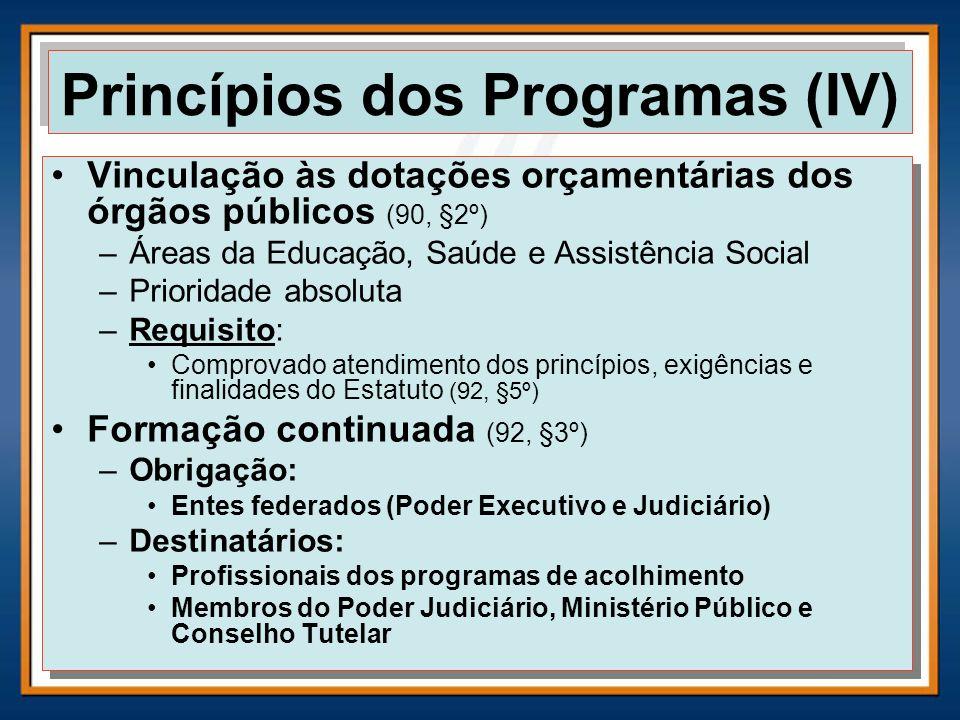 Princípios dos Programas (IV)