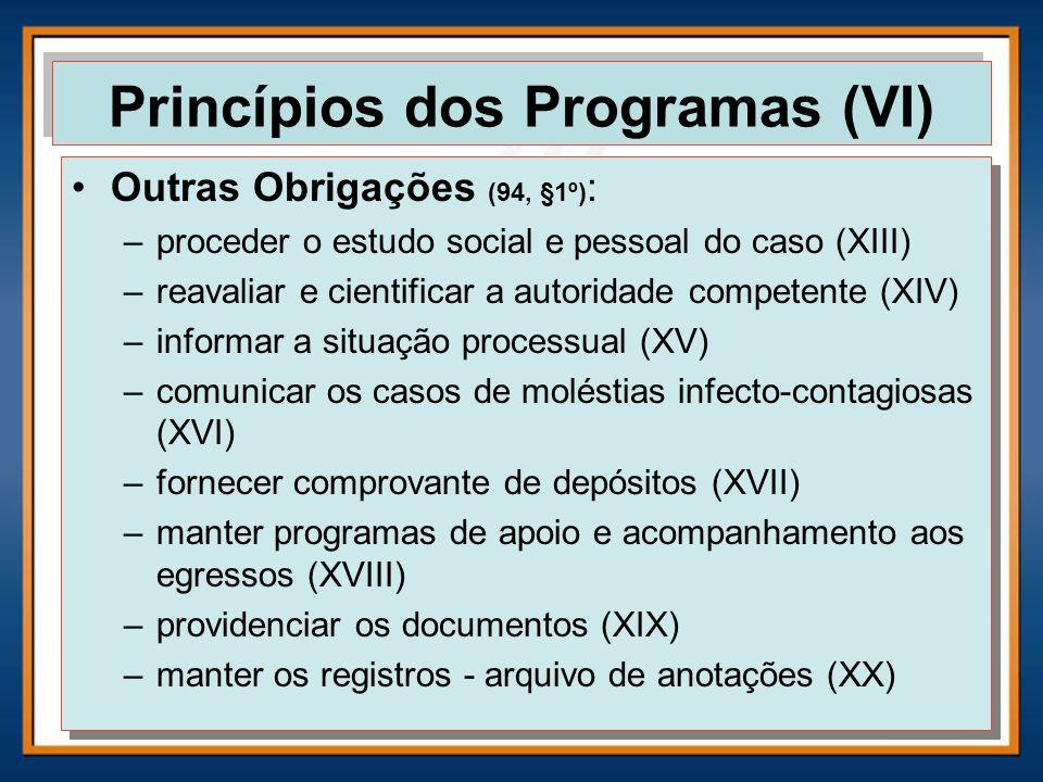Princípios dos Programas (VI)