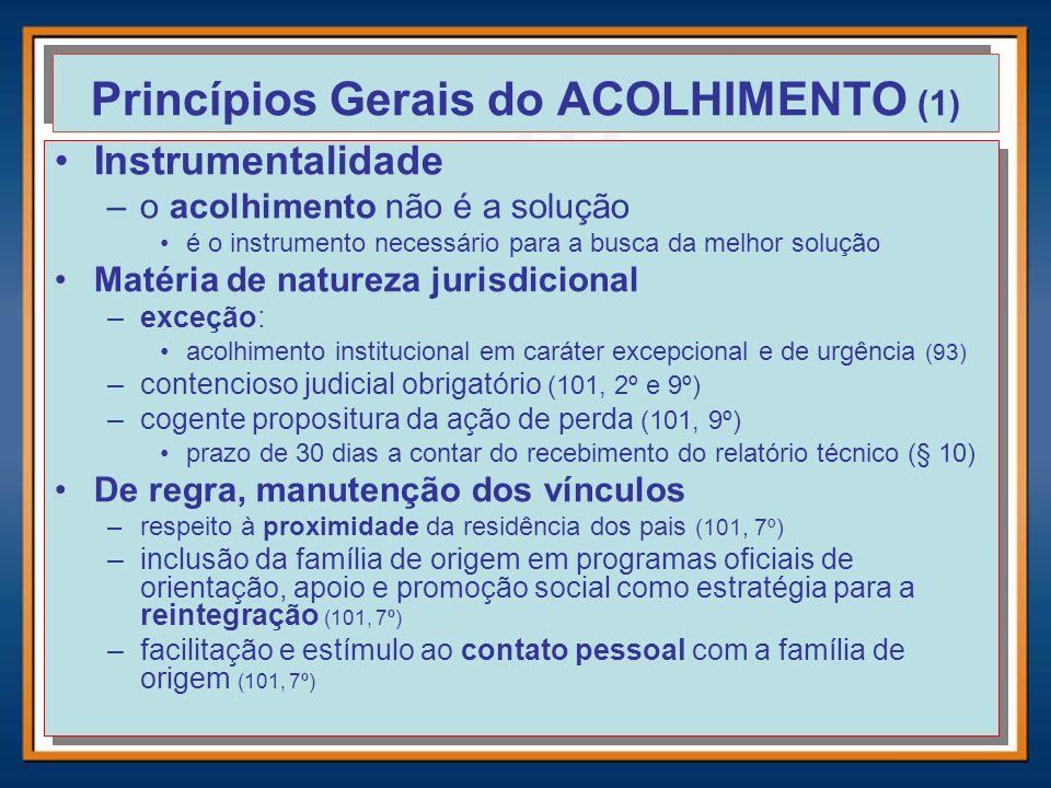 Princípios Gerais do ACOLHIMENTO (1)
