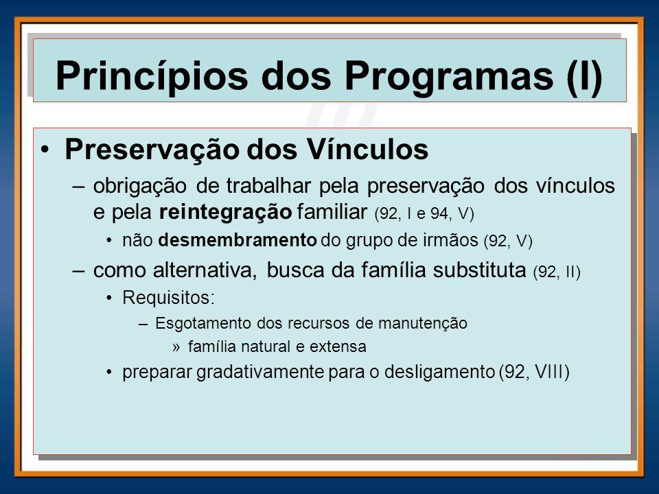 Princípios dos Programas (I)
