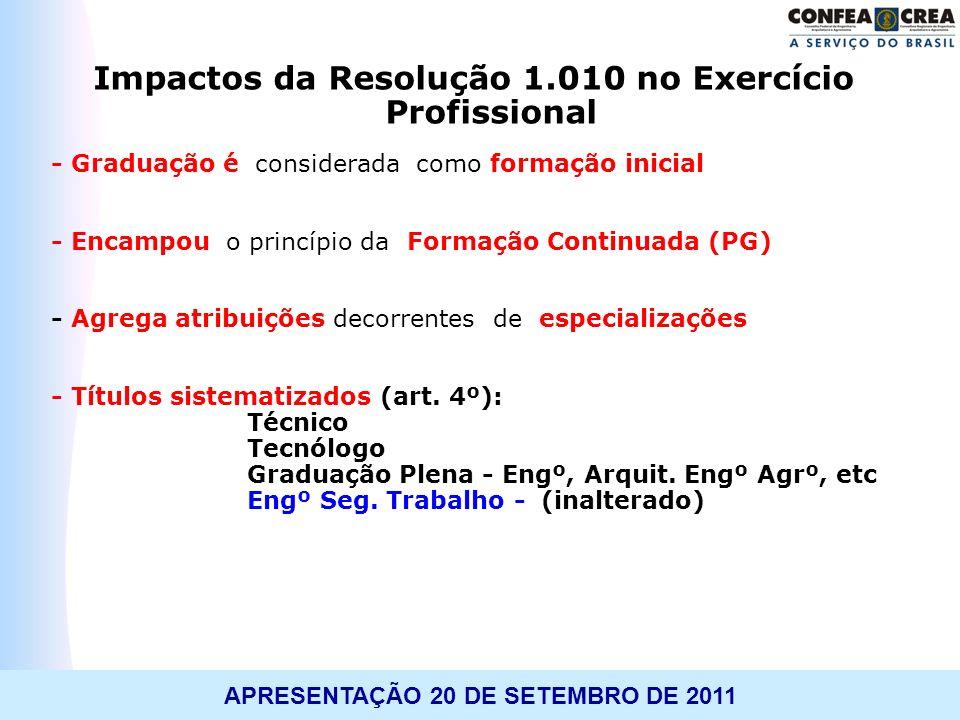 Impactos da Resolução 1.010 no Exercício Profissional