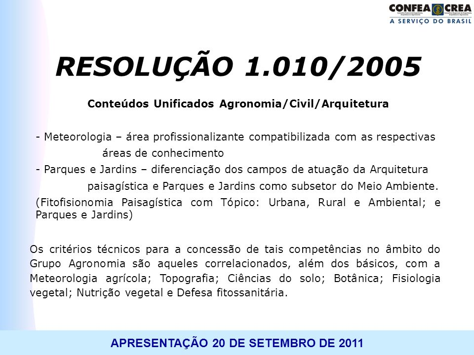 Conteúdos Unificados Agronomia/Civil/Arquitetura