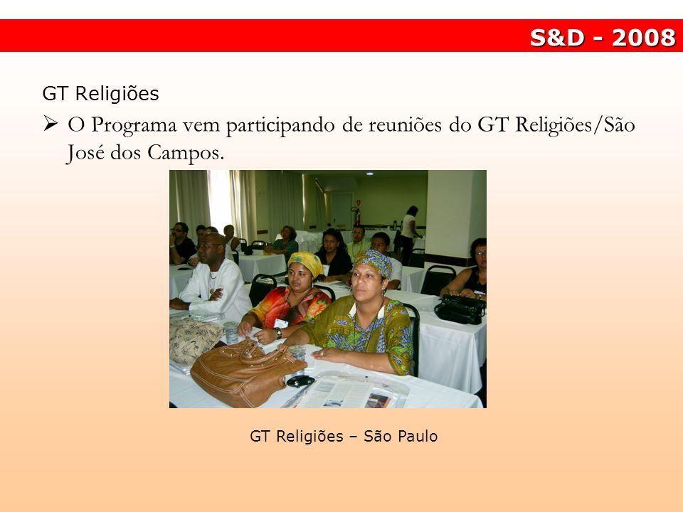 GT Religiões – São Paulo