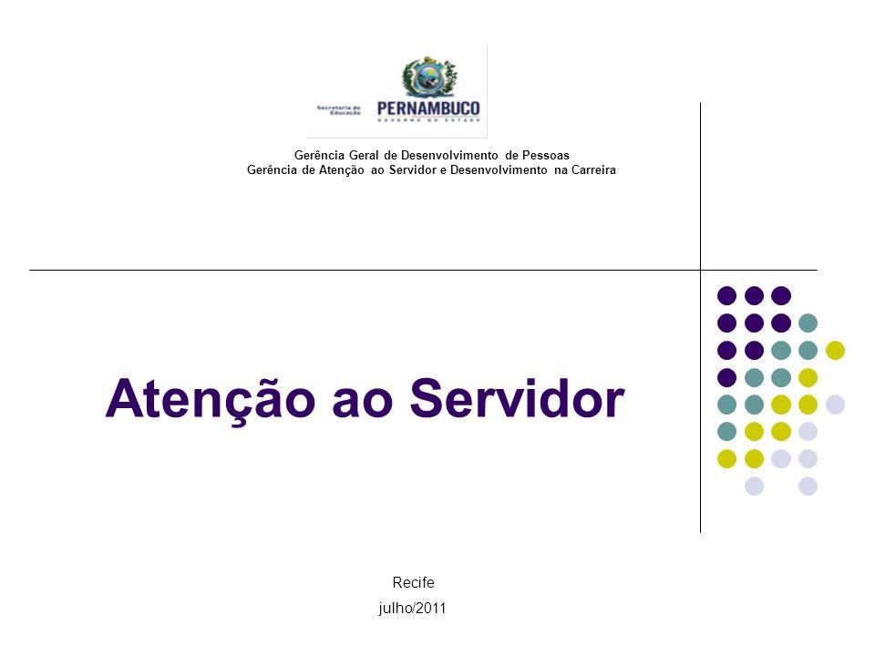 Atenção ao Servidor Recife julho/2011