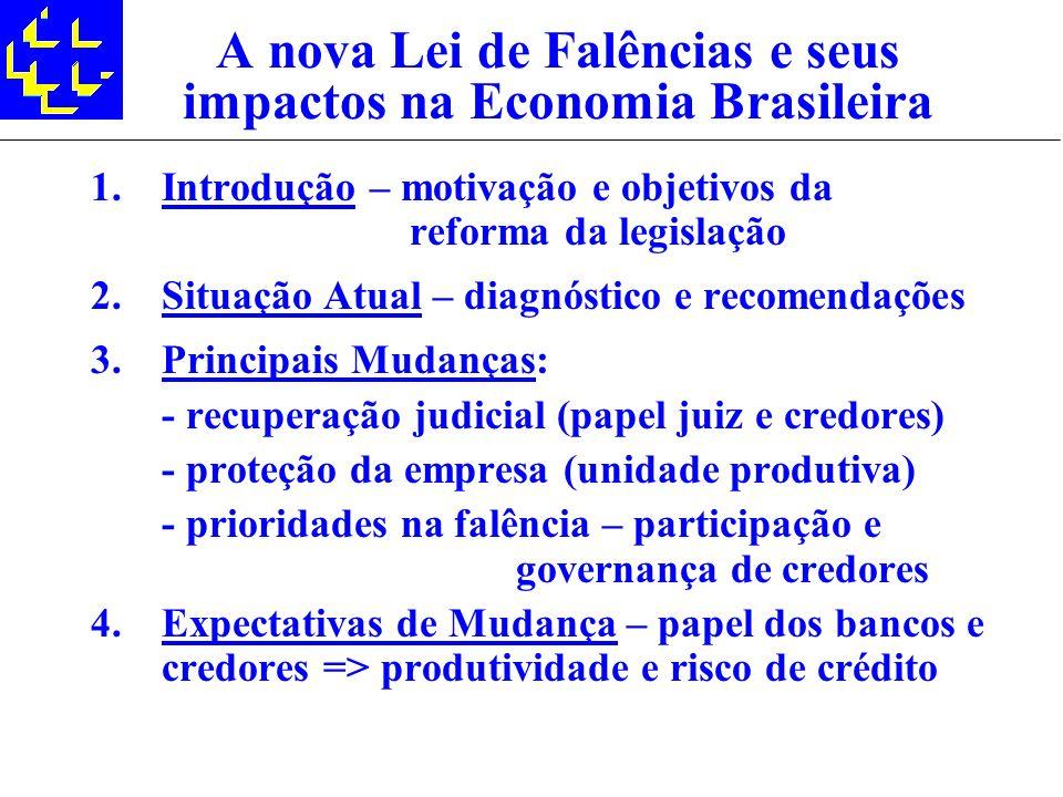 A nova Lei de Falências e seus impactos na Economia Brasileira