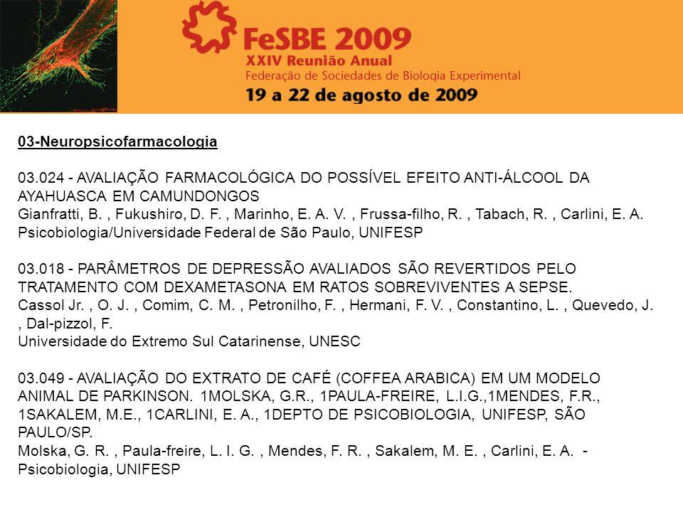 03-Neuropsicofarmacologia