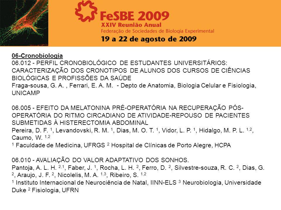 06-Cronobiologia