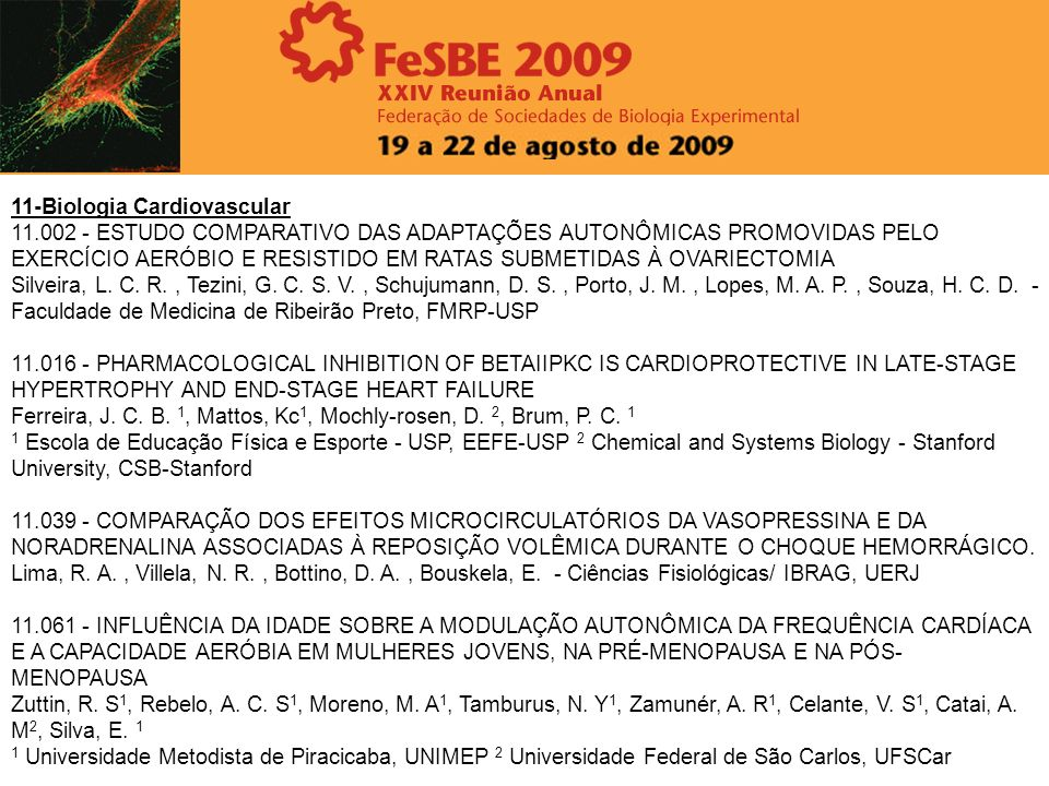 11-Biologia Cardiovascular
