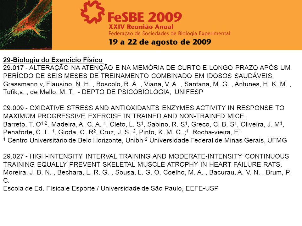 29-Biologia do Exercício Físico