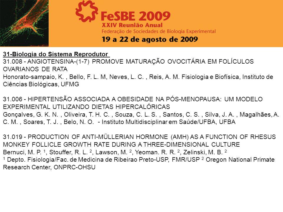 31-Biologia do Sistema Reprodutor