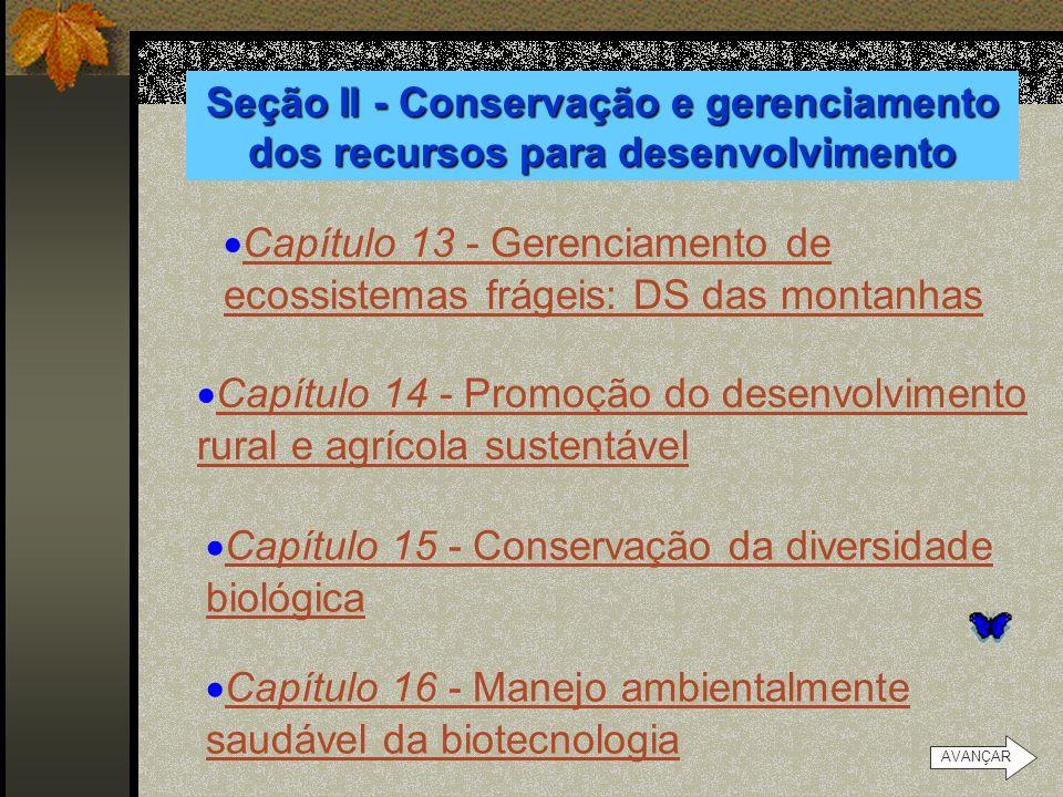 Capítulo 13 - Gerenciamento de ecossistemas frágeis: DS das montanhas