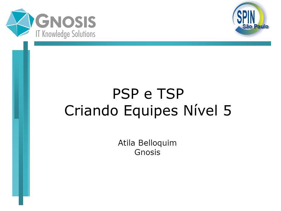 PSP e TSP Criando Equipes Nível 5