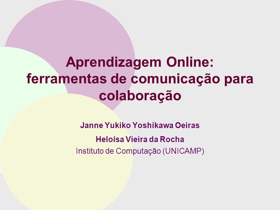 Aprendizagem Online: ferramentas de comunicação para colaboração