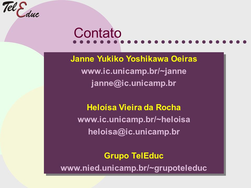Janne Yukiko Yoshikawa Oeiras Heloísa Vieira da Rocha