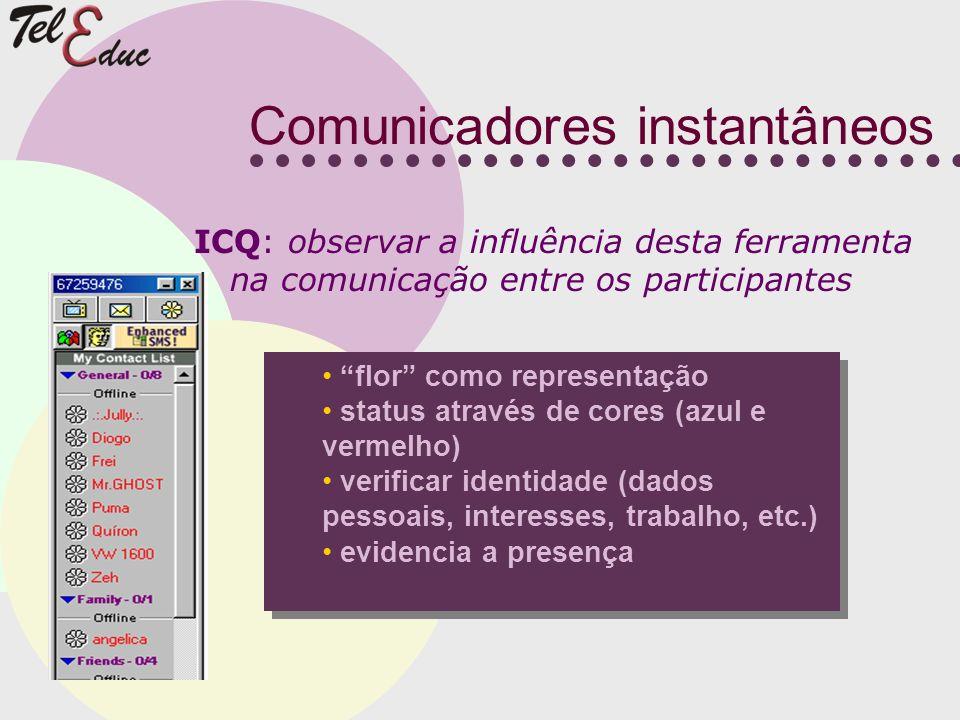 Comunicadores instantâneos