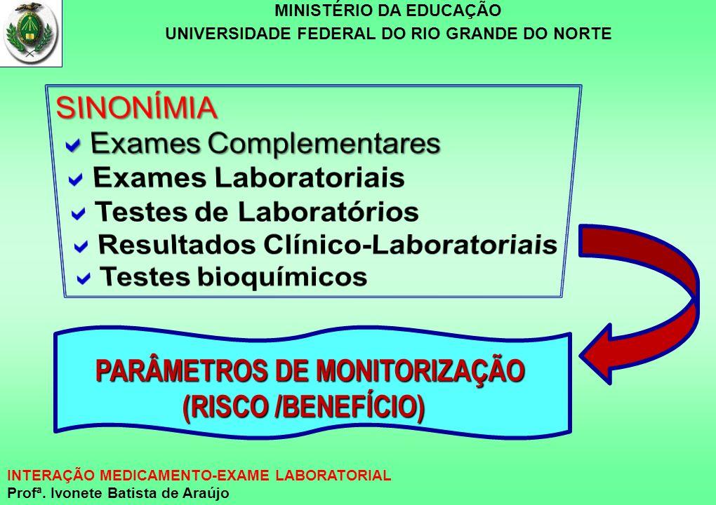 Exames Complementares Exames Laboratoriais Testes de Laboratórios