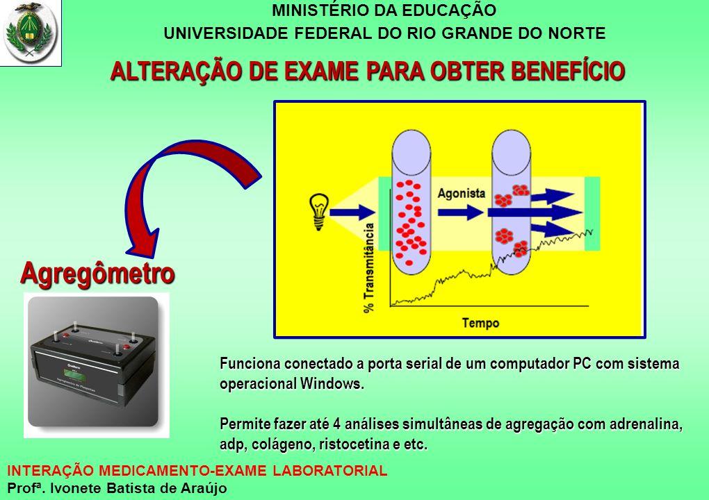 ALTERAÇÃO DE EXAME PARA OBTER BENEFÍCIO