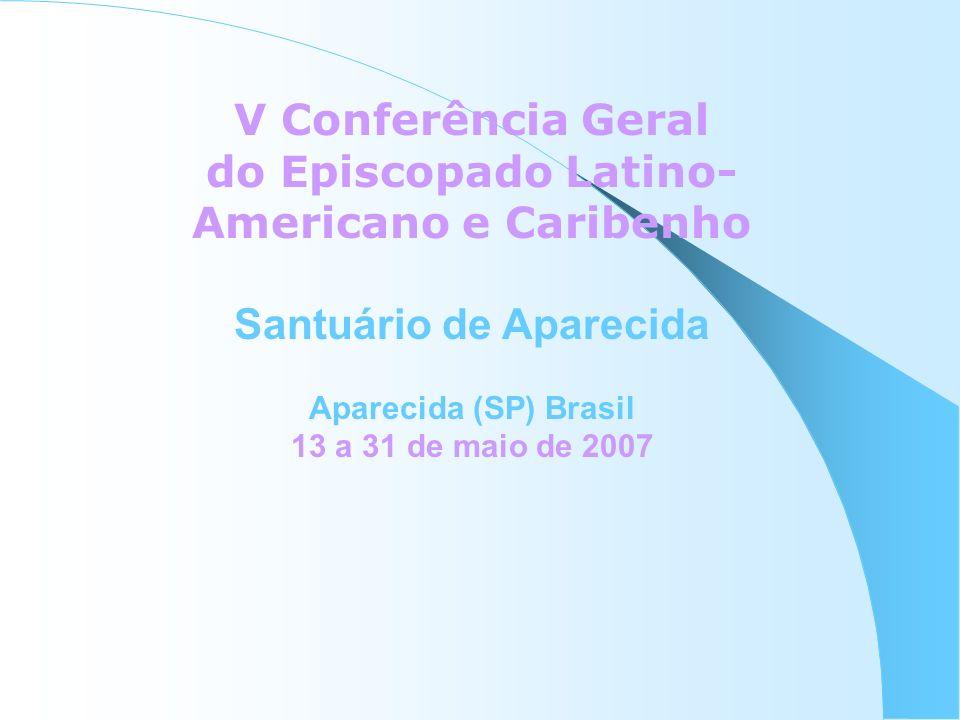 do Episcopado Latino-Americano e Caribenho Santuário de Aparecida