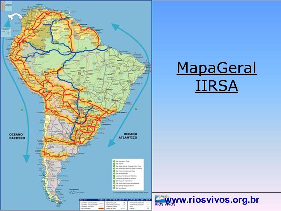 MapaGeral IIRSA www.riosvivos.org.br
