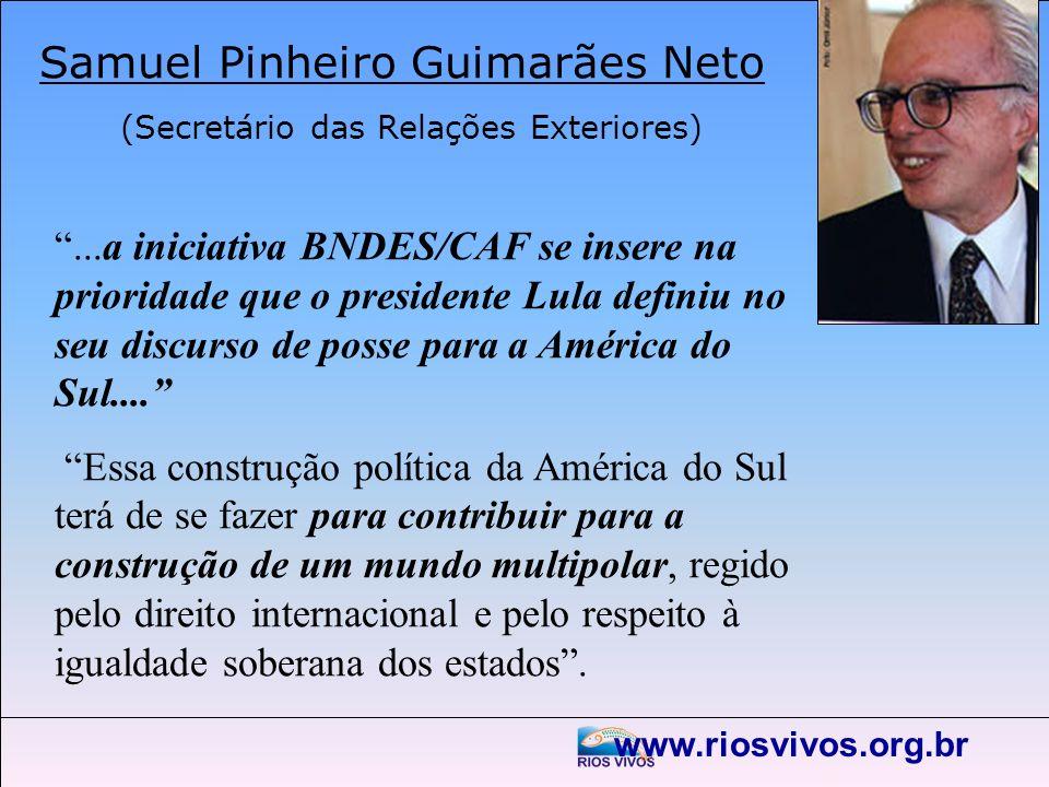 Samuel Pinheiro Guimarães Neto (Secretário das Relações Exteriores)