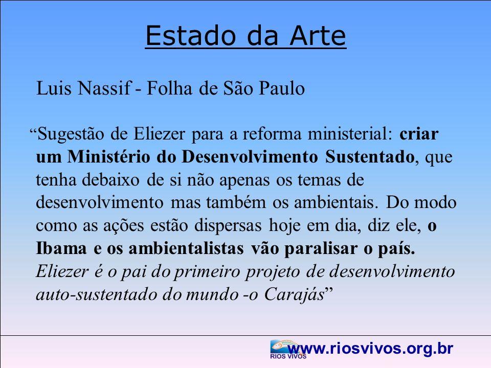 Estado da Arte Luis Nassif - Folha de São Paulo
