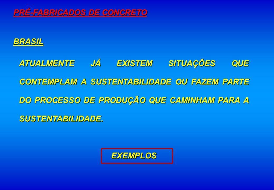 PRÉ-FABRICADOS DE CONCRETO