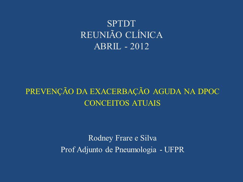 SPTDT REUNIÃO CLÍNICA ABRIL - 2012