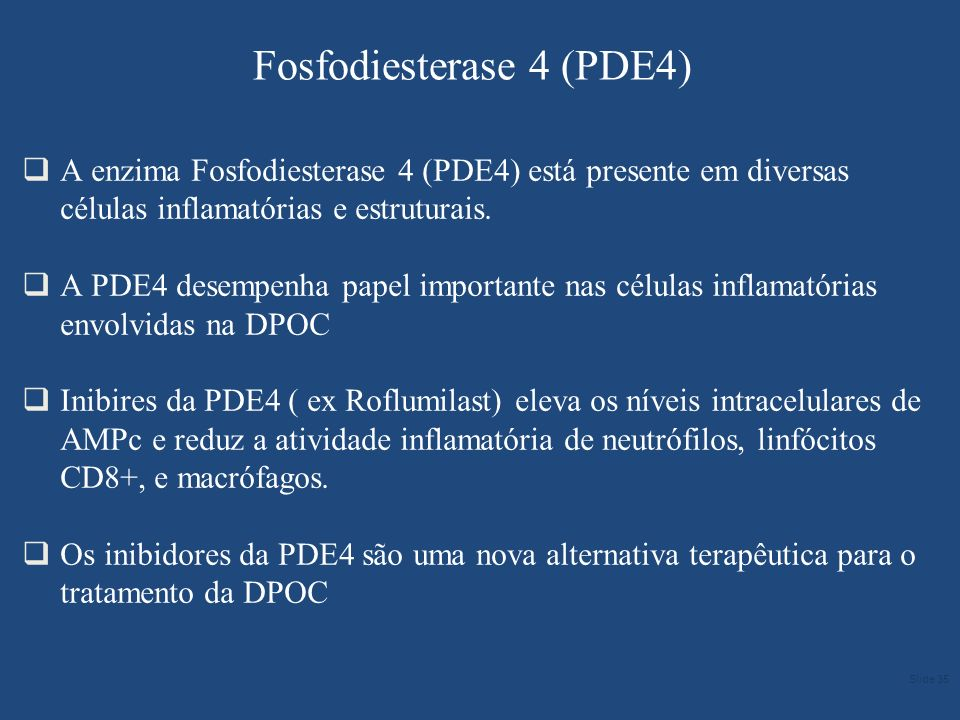 Fosfodiesterase 4 (PDE4)