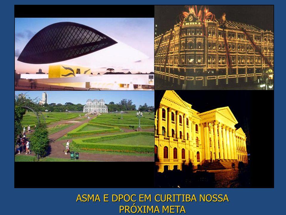 ASMA E DPOC EM CURITIBA NOSSA PRÓXIMA META