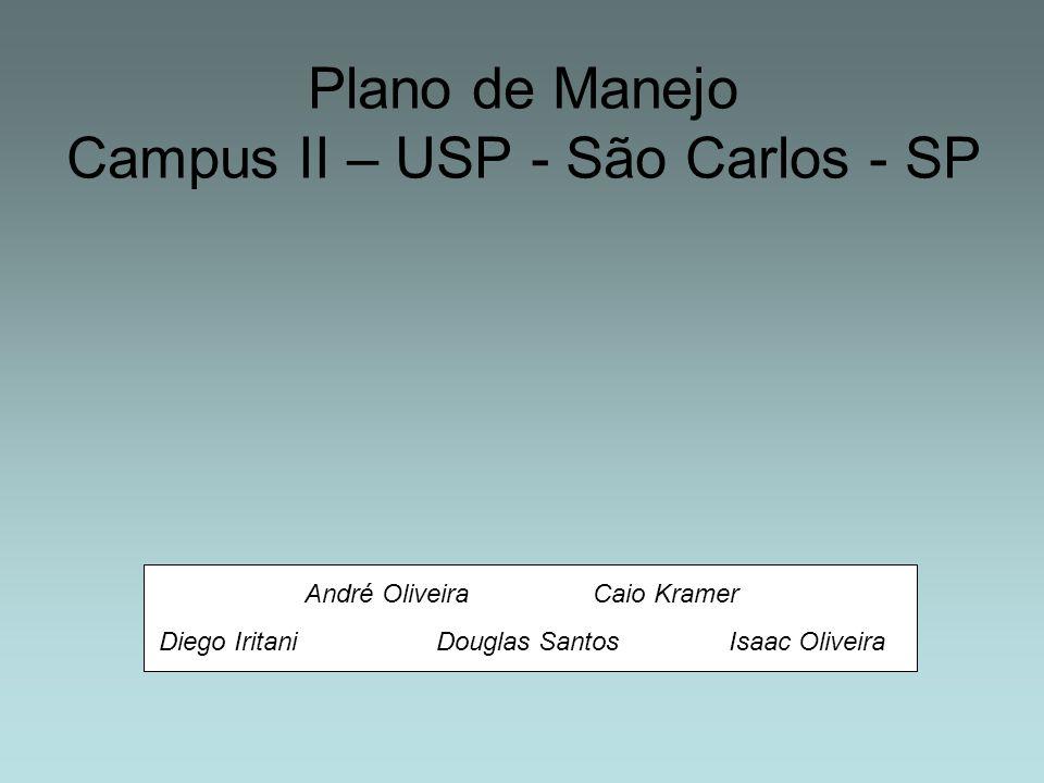 Plano de Manejo Campus II – USP - São Carlos - SP