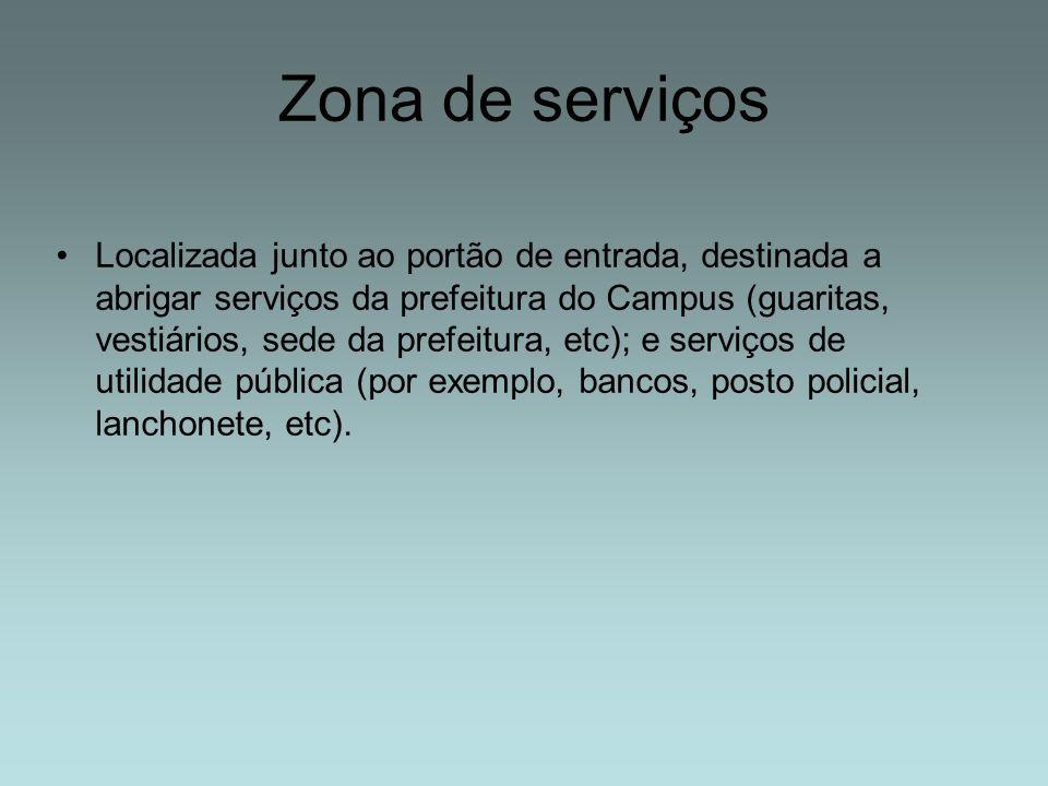 Zona de serviços