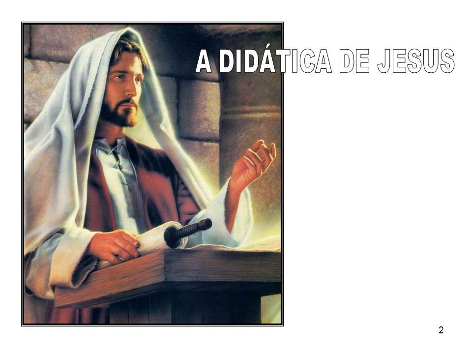 A DIDÁTICA DE JESUS