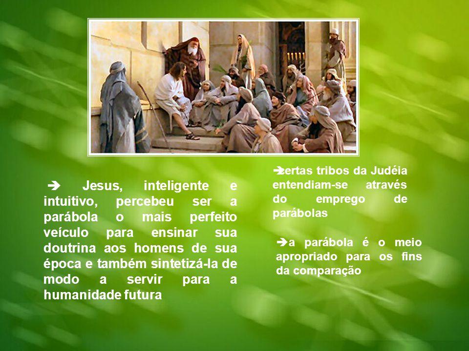 certas tribos da Judéia entendiam-se através do emprego de parábolas