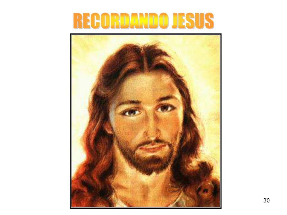 RECORDANDO JESUS