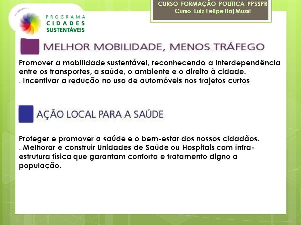 CURSO FORMAÇÃO POLITICA PPSSPR Curso Luiz Felipe Haj Mussi