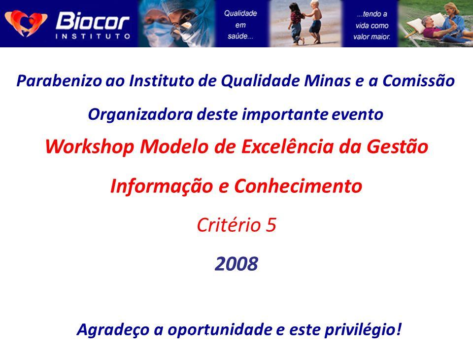 Workshop Modelo de Excelência da Gestão Informação e Conhecimento 2008