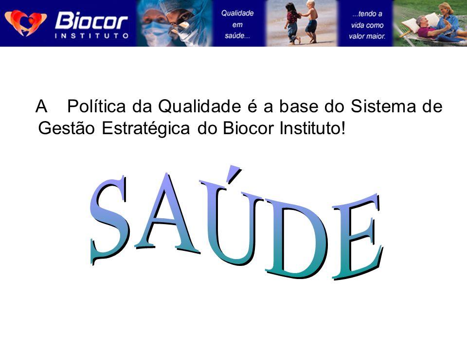 A Política da Qualidade é a base do Sistema de Gestão Estratégica do Biocor Instituto!
