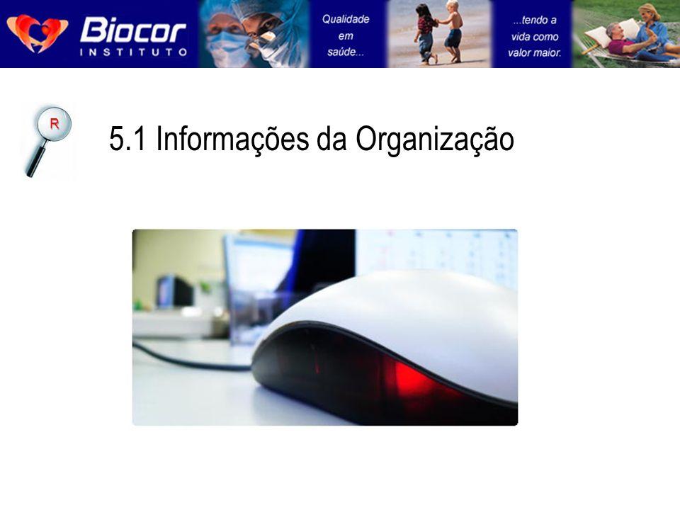 5.1 Informações da Organização