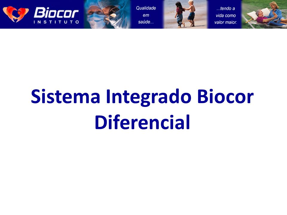 Sistema Integrado Biocor Diferencial