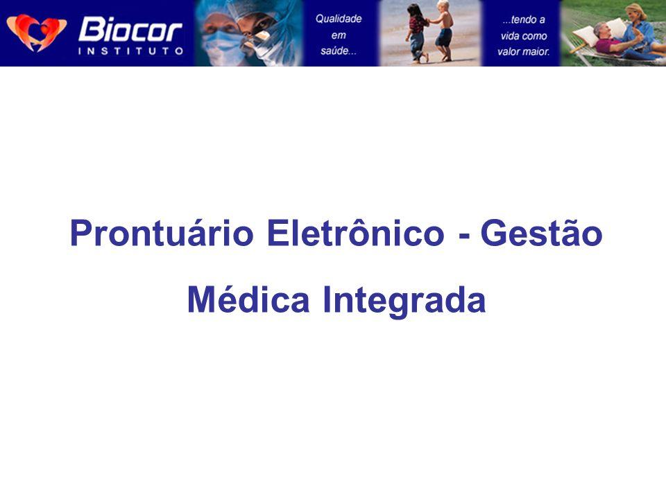 Prontuário Eletrônico - Gestão Médica Integrada
