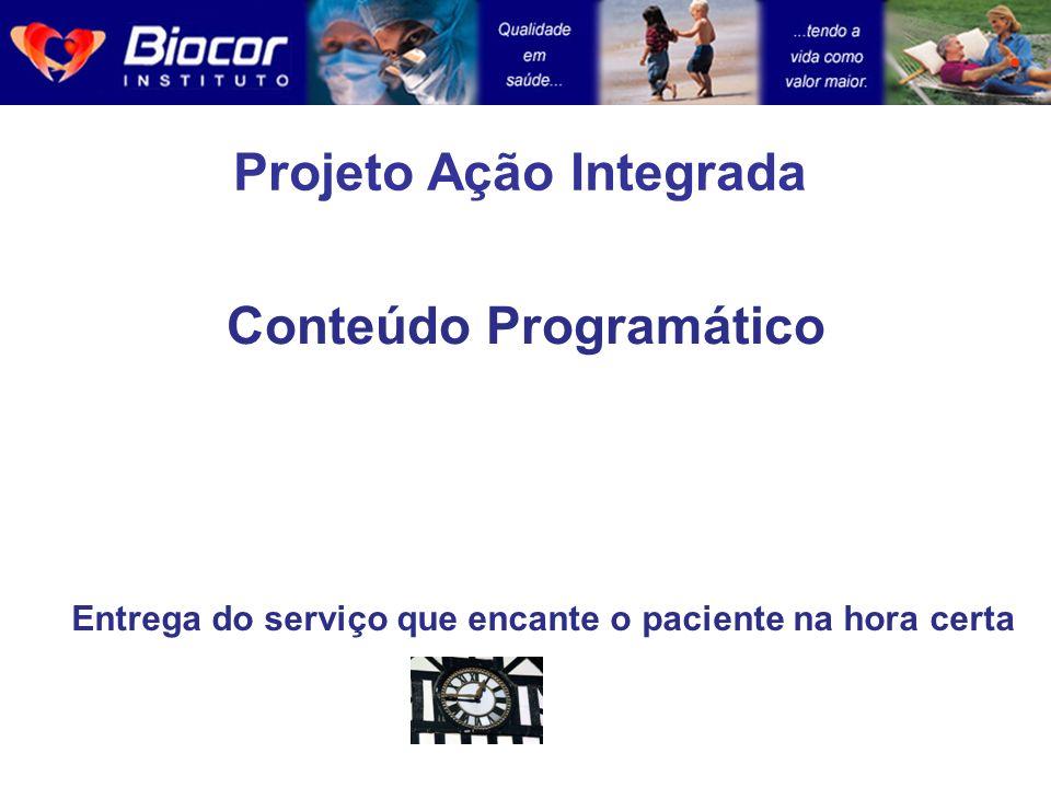 Projeto Ação Integrada Conteúdo Programático