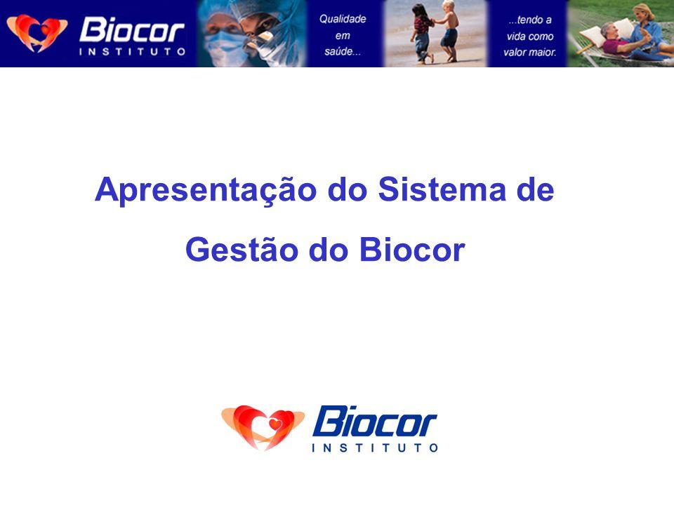 Apresentação do Sistema de Gestão do Biocor