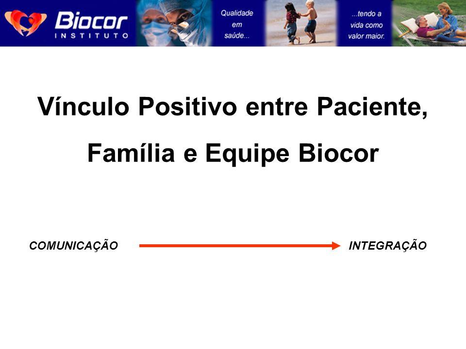 Vínculo Positivo entre Paciente, Família e Equipe Biocor