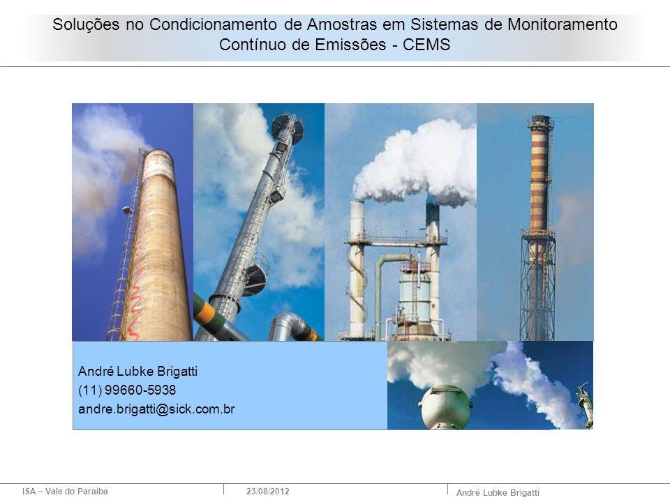 André Lubke Brigatti (11) 99660-5938 andre.brigatti@sick.com.br
