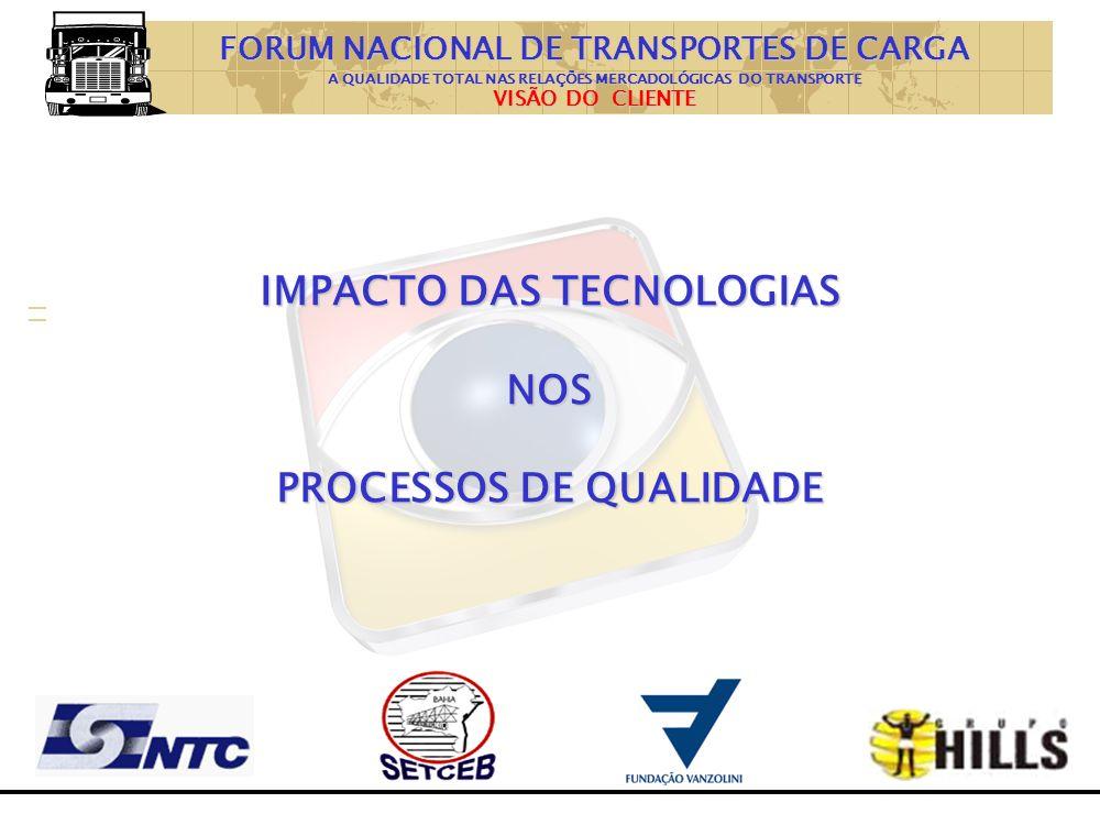 IMPACTO DAS TECNOLOGIAS NOS PROCESSOS DE QUALIDADE