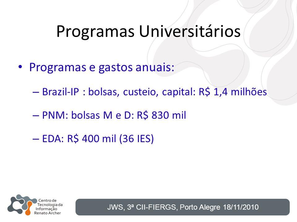 Programas Universitários