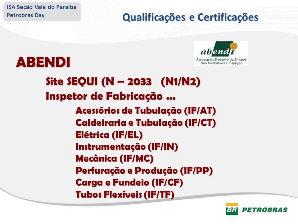 Qualificações e Certificações