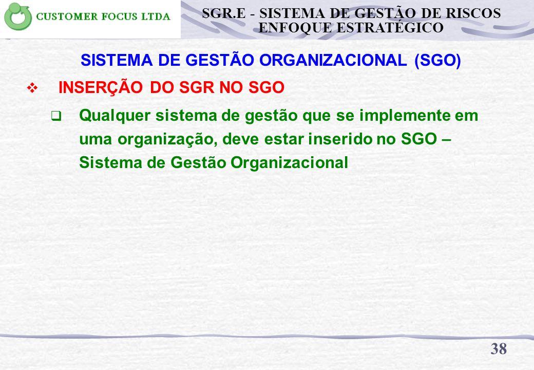 SISTEMA DE GESTÃO ORGANIZACIONAL (SGO)