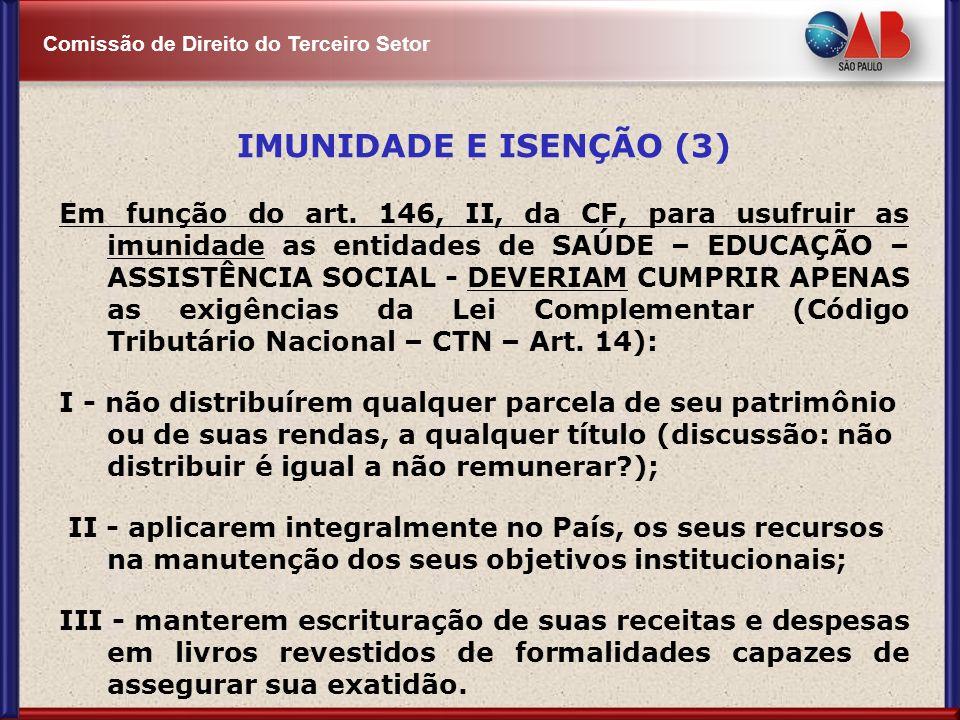 IMUNIDADE E ISENÇÃO (3)