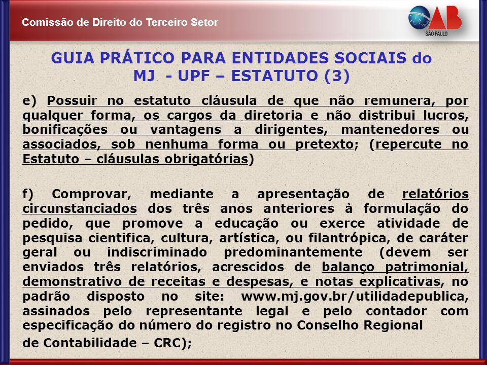 GUIA PRÁTICO PARA ENTIDADES SOCIAIS do MJ - UPF – ESTATUTO (3)